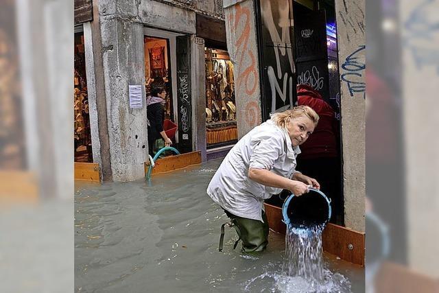 Unwetter legt Italien teilweise lahm