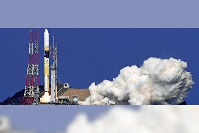 Japanischer Satellit erforscht Treibhausgas