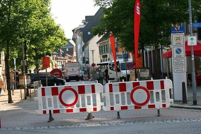 Der Streit um die Schopfheimer Hauptstraße steckt in der Sackgasse