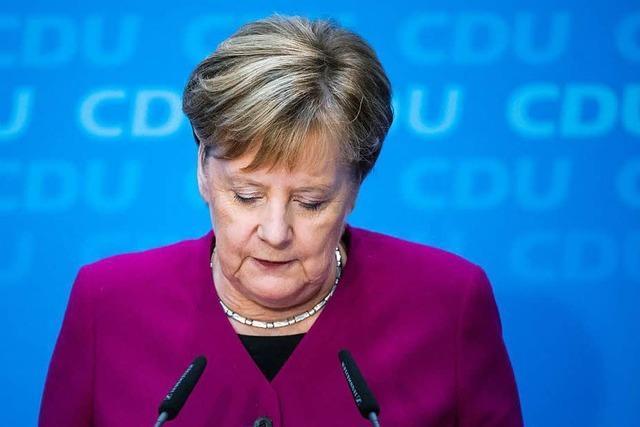 Was die Freiburger CDU über Merkels Rückzug denkt