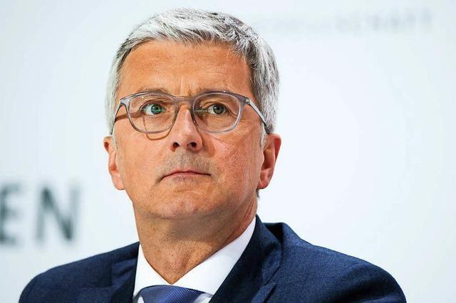 Früherer Audi-Chef Stadler kommt frei