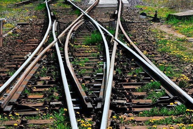 Sturm legt Bahnverkehr im Renchtal lahm