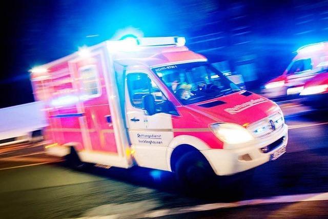 Ein Leichtverletzter und 25000 Euro Schaden
