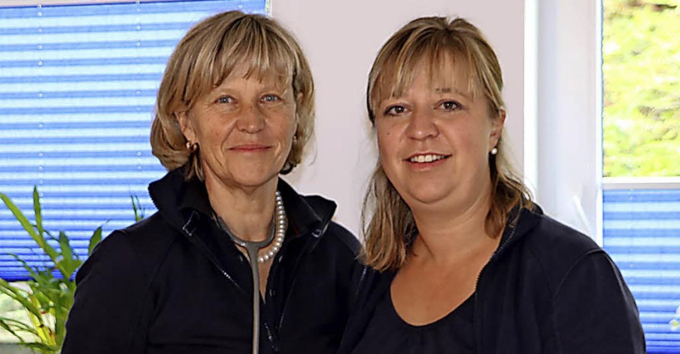 Martina Pitsch zog mit ihrer Allgemein... ihrer Tochter Sarah Schenck zusammen.    Foto: Martha Weishaar