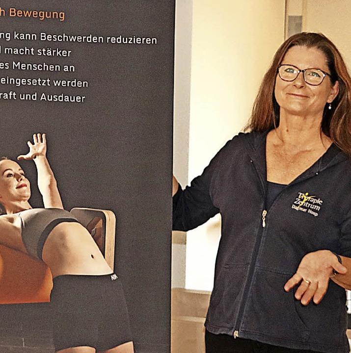 Dagmar Hosp erweitert ihr Therapiezent...sundheit auf weitere 190 Quadratmeter.    Foto: Martha Weishaar