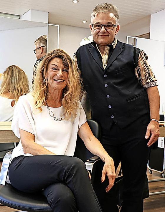 Ute Bär verlegte ihr Haarparadies von ...anovic unterstützt sie dort weiterhin.    Foto: Martha Weishaar