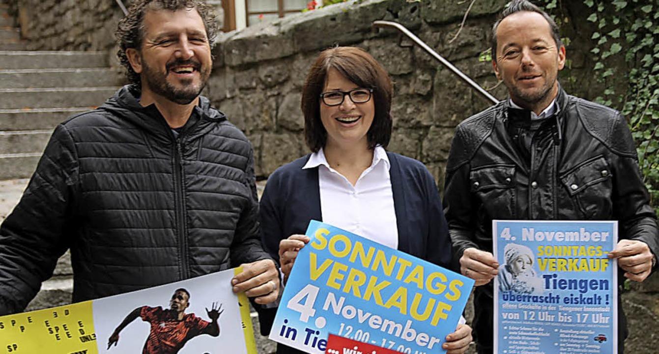 Das Organisationsteam freut sich auf d... Rehm, Nikola Kögel und Axel Schmidt.     Foto: Manfred Dinort