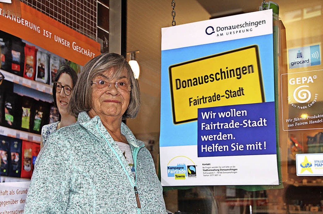 Donaueschingen ist auf dem Weg zur Fai...laden zum Gelingen des Projektes bei.     Foto: Ann-Kathrin Moritz