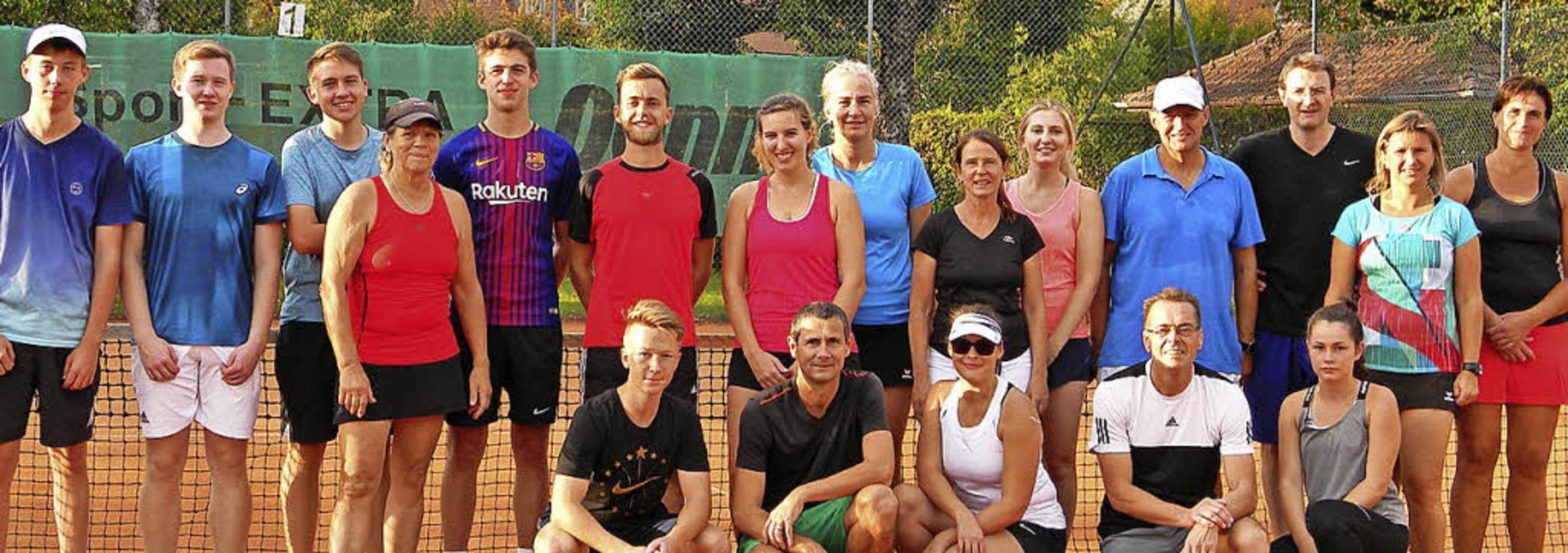<BZ-FotoAnlauf>Die Clubmeisterschaften...e Saison des Tennisclubs Schopfheims.   | Foto: TC Schopfheim