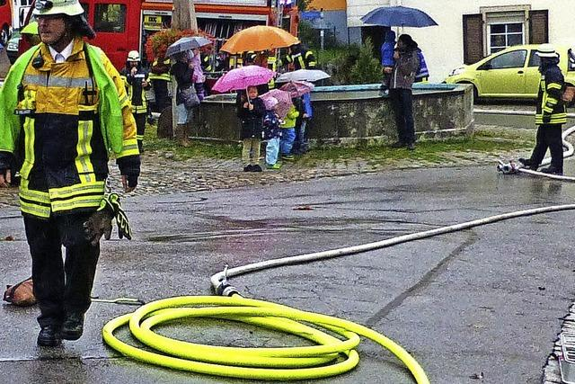 Löschwasser steht viel schneller bereit
