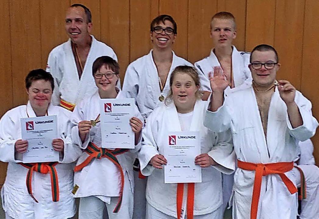<BZ-FotoAnlauf>Judo-Club: </BZ-FotoAnl...Christine Kimmerle und  Max Schuhmann   | Foto: Privat