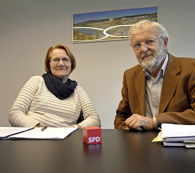 Sind zuversichtlich, dass ihre Idee zü...arin Paulsen-Zenke und Alfred Winkler   | Foto: Horatio Gollin