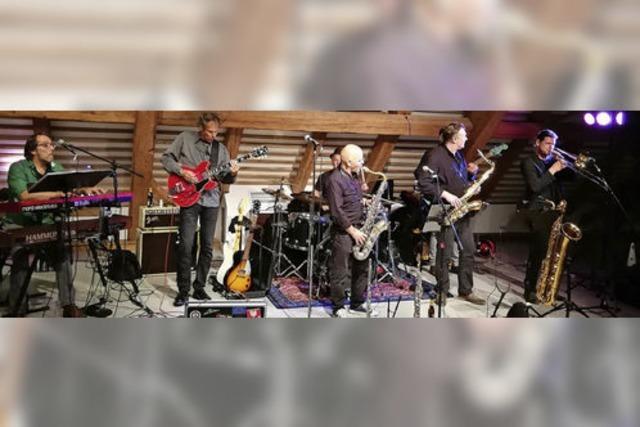 Best-Ager Blues-Boygroup rockt Burg-Birkenhof