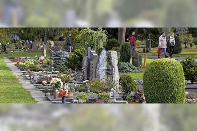 Der Trend geht zu naturnahen Bestattungsformen