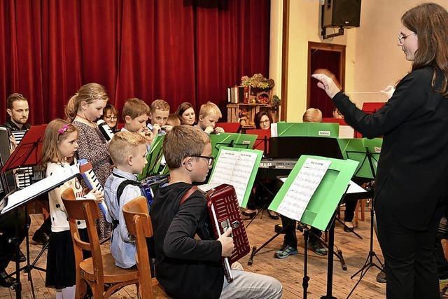 Konzert mit Jungmusikern