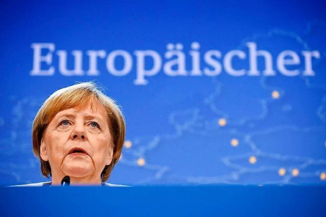 Merkels Stern in Europa war schon gesunken