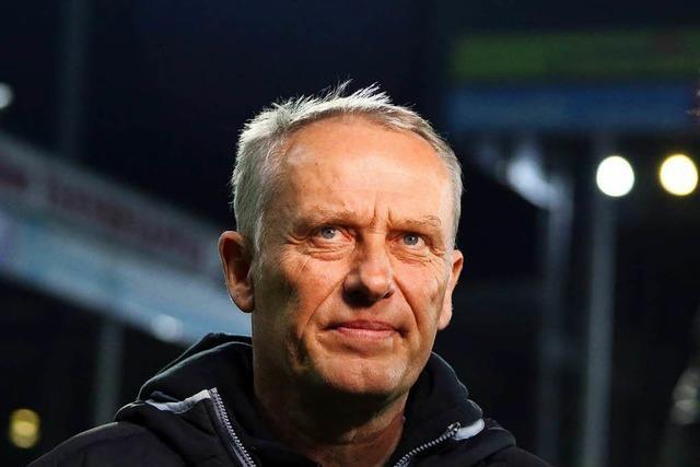 So schaut SC-Trainer Streich auf das Pokalspiel gegen Holstein Kiel