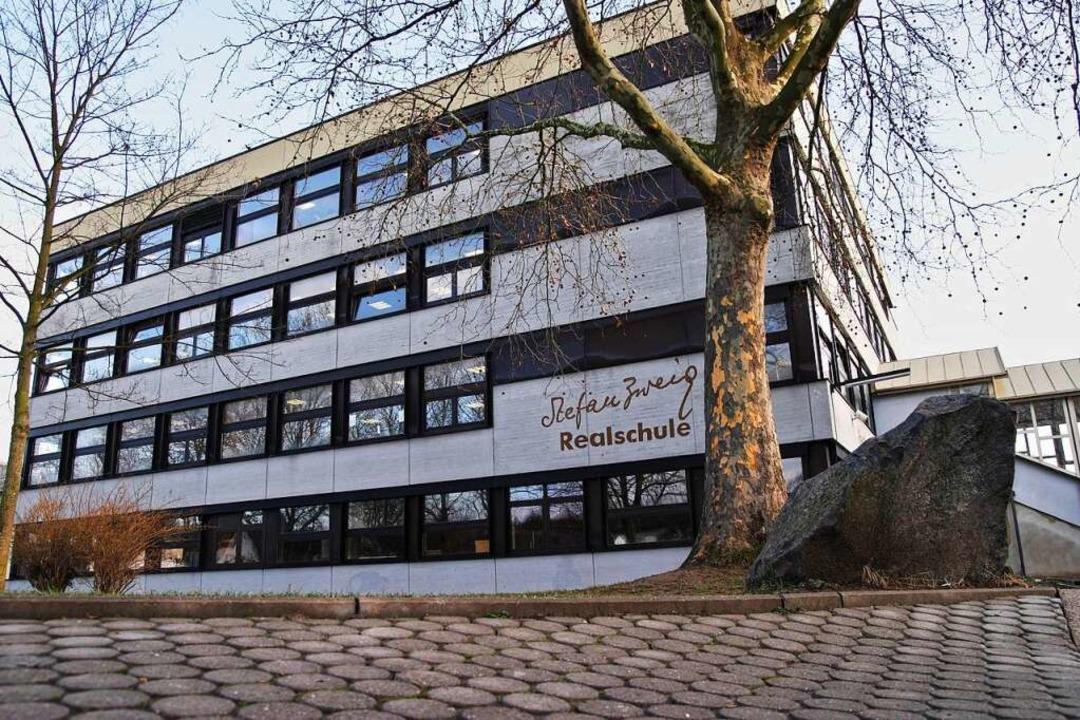 BZ-Hautnah: Das Speed-Dating findet in der Stefan-Zweig-Realschule statt.  | Foto: Martin Wendel