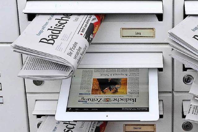 BZ-Abonnenten lesen die digitale BZ gratis, wenn die Zeitung mal im Briefkasten fehlt