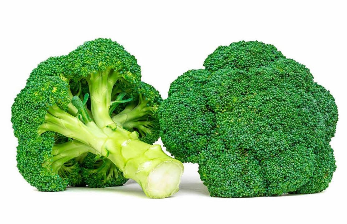 Nein, roher Brokkoli ist nicht giftig.  | Foto: Gerhard Ledwinka