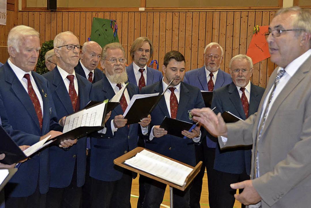 Im Jahr 2016 feierten die Sänger der E...llbach stimmten gemeinsam im Chor ein.  | Foto: Hrvoje Miloslavic