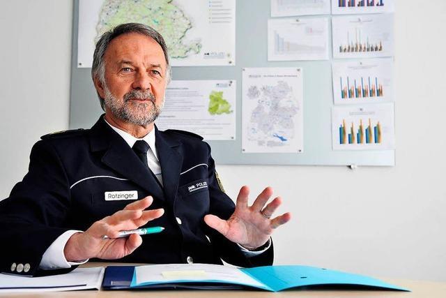 Polizeipräsident Bernhard Rotzinger geht in Ruhestand – und will für den Freiburger Gemeinderat kandidieren