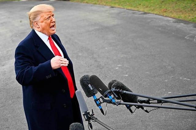 Trump: Zahl der Soldaten an der Grenze könnte auf 15.000 steigen