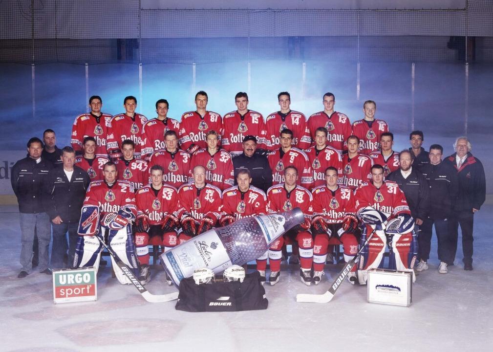 Der EHC-Kader in der Saison 2002/03.  | Foto: bz