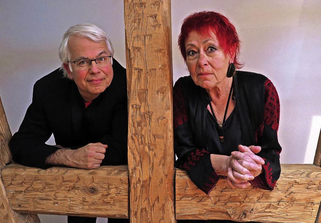 Herwig Rutt und Anita Walter  | Foto: Dorothee Philipp
