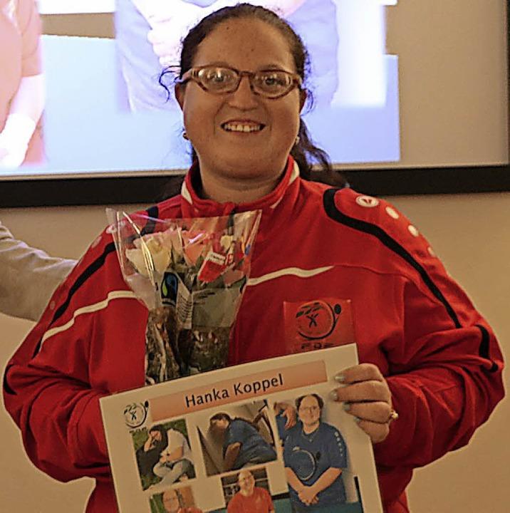 Hanka Koppel engagiert sich über alle ...ch Daniela Botos Engagement gewürdigt.  | Foto: Martha Weishaar