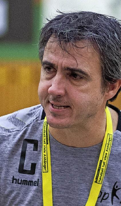 Coach Timo Heuberger moniert die Einstellung.   | Foto:  Alexandra Buss