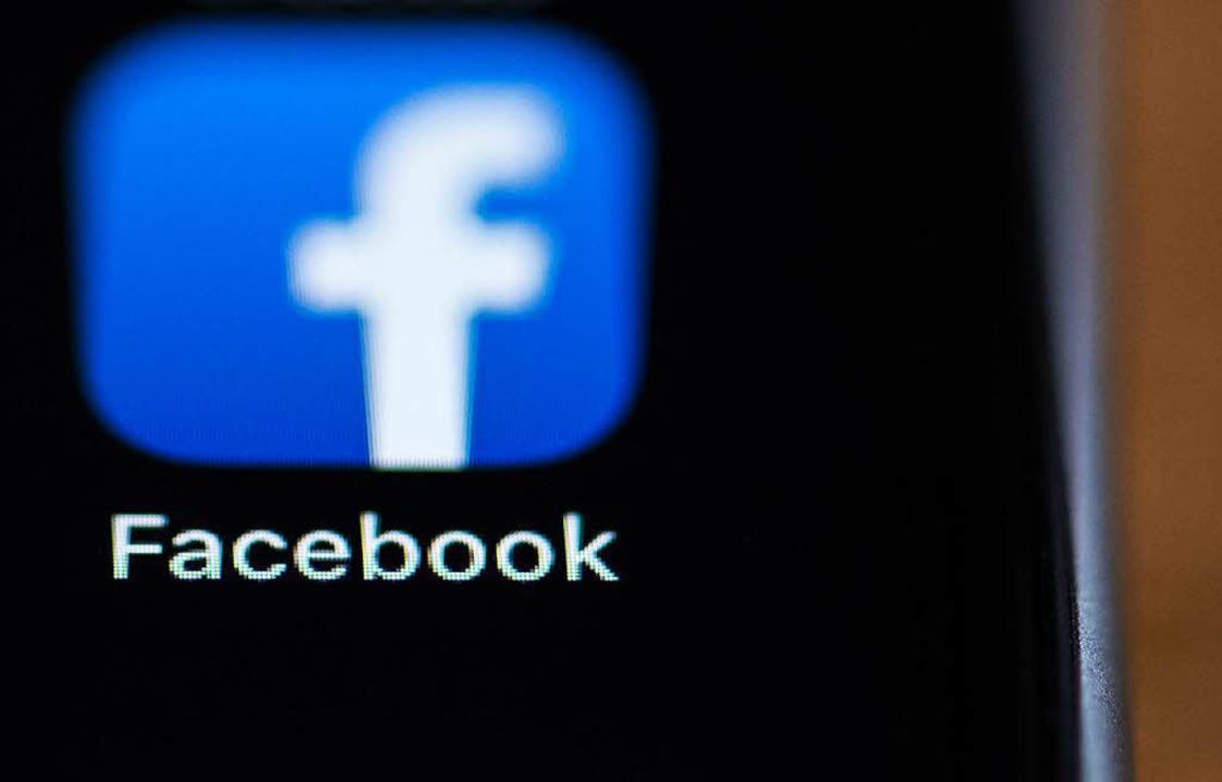 Facebook verfügt über einen Datenschat...edoch nur unzureichend gesichert ist.   | Foto: DPA