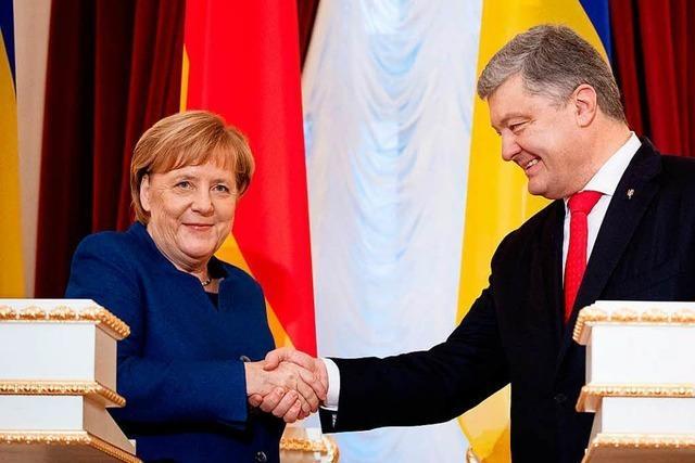 Merkel machtlos in Kiew
