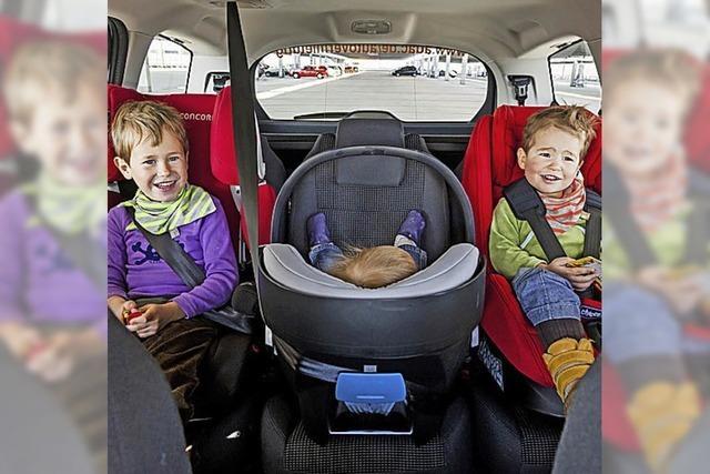Im Auto die sichere Seite