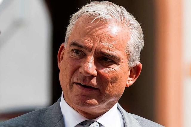 CDU-Generalsekretär weist Rücktrittsforderung gegen Innenminister Strobl zurück