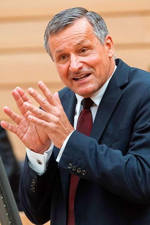 FDP-Landtagsfraktionschef Hans-Ulrich Rülke  | Foto: dpa