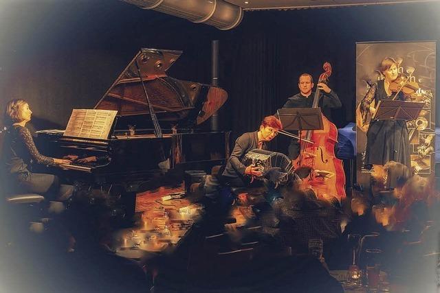 Tanzbare Arrangements präsentiert Tango Si im Offenburger KiK