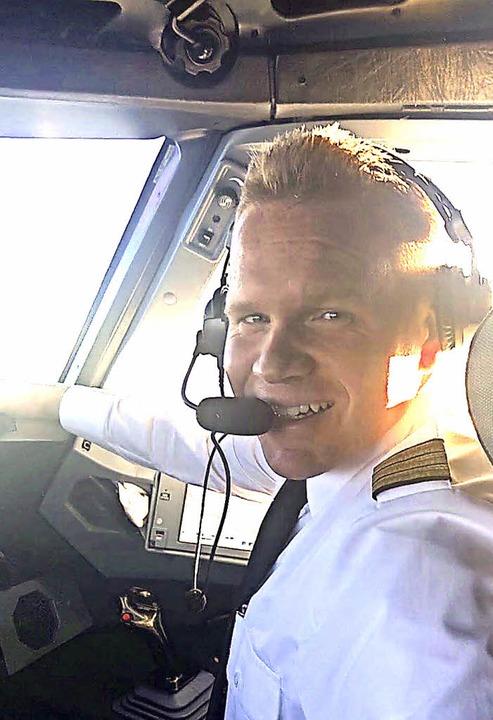 Blick ins Cockpit zu Lufthansa-Pilot Sebastian Oehlert   | Foto: Privat