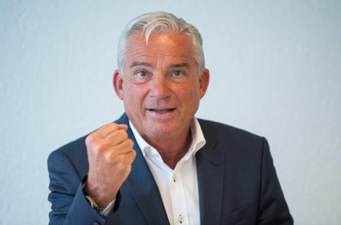 Innenminister Thomas Strobl will härter durchgreifen.  | Foto: dpa
