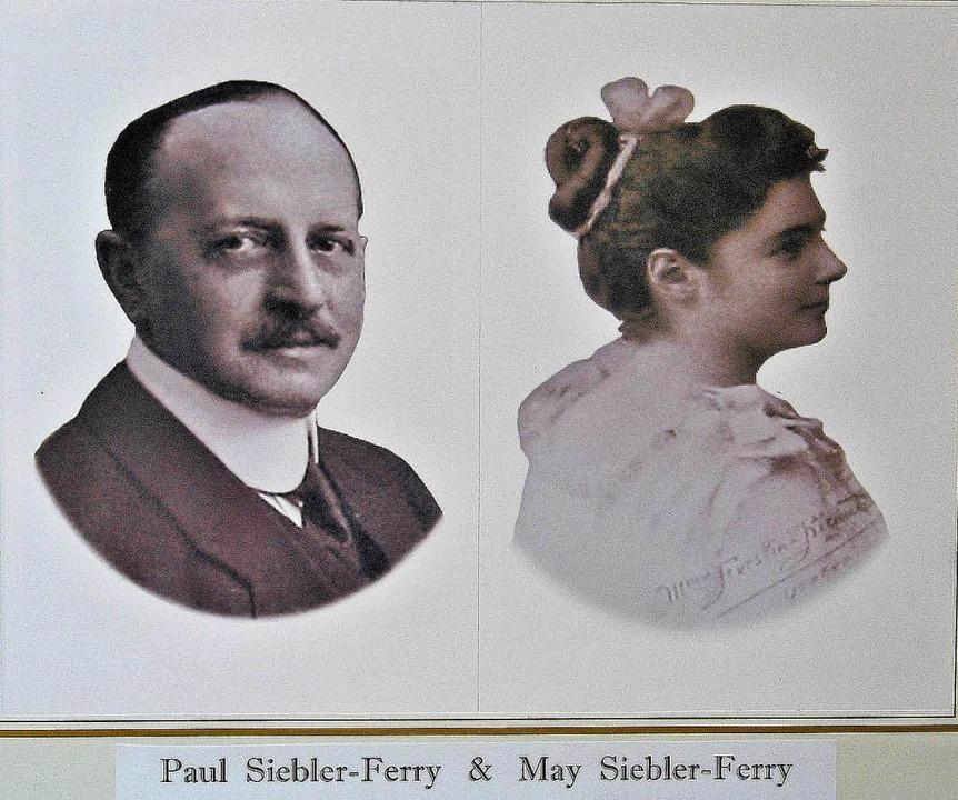 Paul und May Siebler-Ferry sind auf Gr...ürger der Gemeinde Lenzkirch geworden.  | Foto: Archiv Haderer