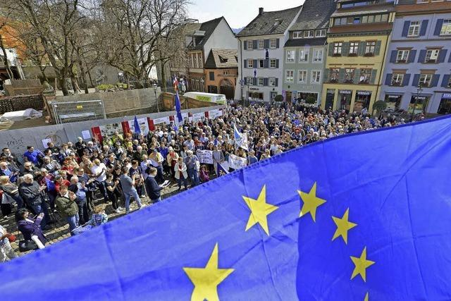 Am Sonntag demonstriert Pulse of Europe auf dem Synagogenplatz für ein einiges Europa