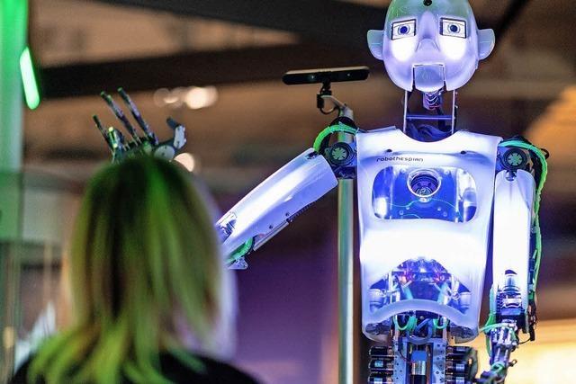 Roboter, die Roboter bauen