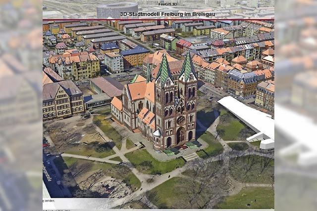 Was kann das digitale 3-D-Stadtmodell, das nun allen Bürgern zur Verfügung steht?