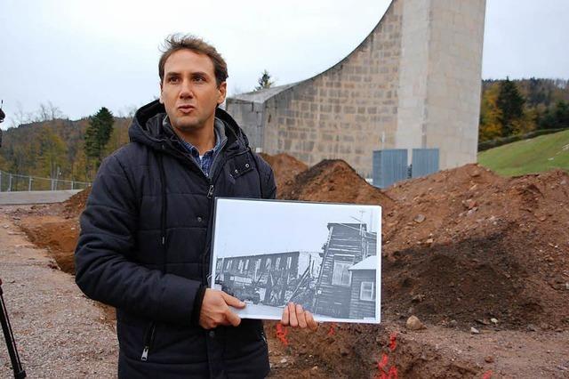 Auf dem Gelände des KZ Natzweiler-Struthof wird erstmals nach Spuren gesucht