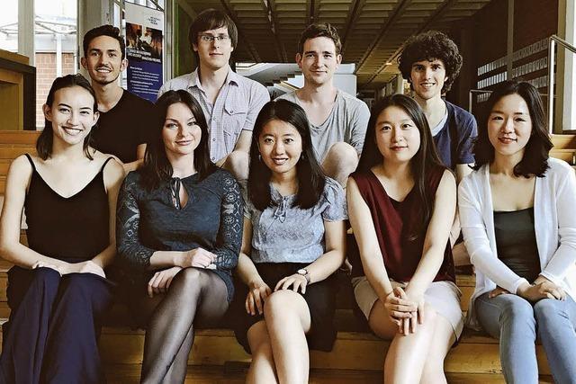 Klavierstudenten aus Freiburg geben am Montag, 5. November, im Sigma-Zentrum in Bad Säckingen ein Klavierkonzert.