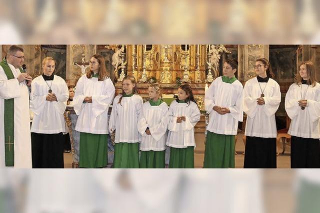 Fünf neue Minis in St. Bartholomäus