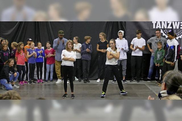 Beim Dance-Camp-Finale zeigt jeder, was er kann