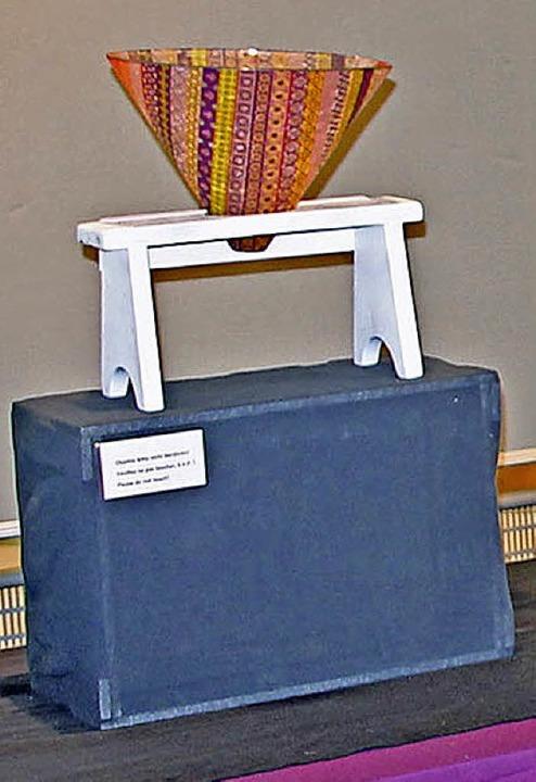 Upcycling ist, wenn aus Müll ein schöner oder brauchbarer Gegenstand entsteht.     Foto: Veranstalter