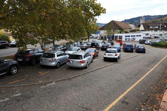 Die Stadt plant eine Parkpalette mit 66 Plätzen