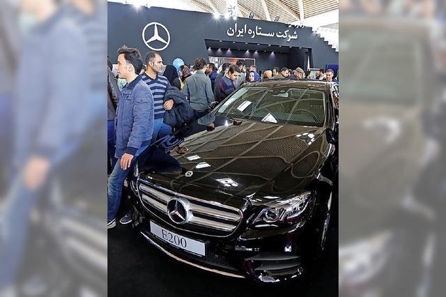 Neue US-Sanktionen gegen Iran treffen europäische Firmen hart